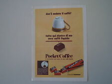 advertising Pubblicità 1970 FERRERO POCKET COFFEE