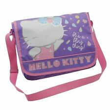 Hello Kitty Character Messenger Shoulder School Bag *New