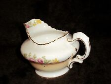 BEAUTIFUL RADFORDIAN BONE FINE CHINA JUG/PITCHER/CREMER ENGLAND/FLORAL PATTERN