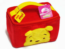 Pooh Red Cosmetic Make Up Bag Accessory Plush Case NWT Winnie the Pooh