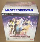 TALES OF XILLIA 2 LIMITED COLLECTOR'S EDITION PLAYSTATION 3 PS3 NEW & SEALED