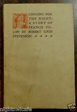 A Lodging for the Night;A Story of Francis Villon 1916 Robert Louis Stevenson