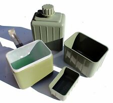 YUGOSLAVIA YUGOSLAVIAN ARMY CAMPING COOK SET MESS TINS & WATER BOTTLE SET