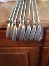 Ladies Callaway X-14 Steelhead Golf Iron set 4-PW,SW Gems Graphite RH Women X14