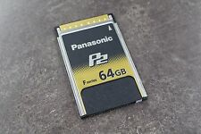 Panasonic AJ-P2E064FG F-Series 64GB P2 Card
