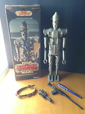 Vintage 1977 Star Wars Empire Strikes Back: IG-88 Large Size Action Figure