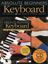 Absolute Beginners : Keyboard Value Pack (2003, Book / CD / DVD)NEW SEALED