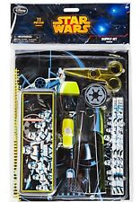 Disney Store Star Wars Stationery Supply Kit Back to School