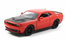 JADA 1:24 BIG TIME MUSCLE 2015 DODGE CHALLENGER SRT HELLCAT Diecast 97859 Red