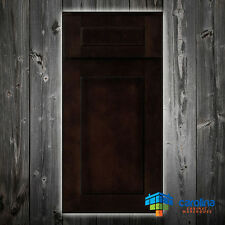 All Solid Wood ( RTA ) Kitchen Cabinet Sample Door, Wood Cabinets, Color: Brown