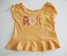 Roxy Girls Sea Girl T-Shirt Apricot Nectar Sz 4 - NWT