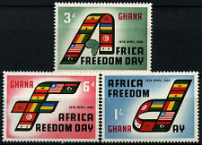 Ghana 1960 SG#242-4 African Freedom Day MNH Set #D34551