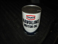 Texaco Havoline Empty One Quart can