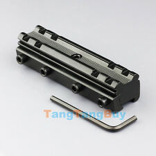 11mm Base Mount to 20mm Dovetail Weaver Picatinny Rail Converter Conversion New