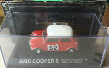 "DIE CAST "" BMC COOPER S RMC - 1965 T. MAKINEN P. EASTER "" RALLY DEA SCALA 1/43"