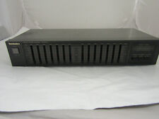 Vintage Technics 7-Band Stereo Graphic Equalizer Model SH-8028 Tested