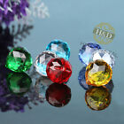 Set 8 Crystal Glass Ball Suncatcher Rainbow Lamp Prisms Feng Shui Pendants 20MM