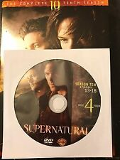 Supernatural - Season 10, Disc 4 REPLACEMENT DISC (not full season)