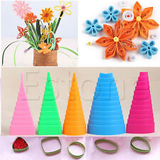 5Pcs Paper Quilling Border Buddy Bobbins Tower Tool Quilled Creations Craft Set