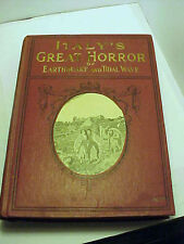 1909 Italy's Great Horror of Earthquake and Tidal Wave by J H Mowbray + more