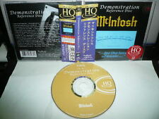 MCLNTOSH EXCLUSIVE DEMONSTRATION REFERENCE DISC 2009 JAPAN HQ CD OBI 4725yen