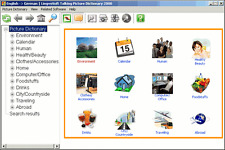 LingvoSoft Talking Picture Dictionary English German