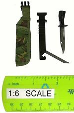 Royal Marines Commando - Knife w/ Sheath - 1/6 Scale - Dragon Action Figures