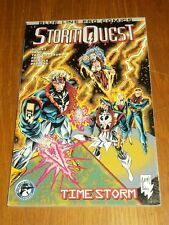 Storm Quest Timestorm Vol 1 Blue Line Pro Comics Hickey (Paperback)  1888429100