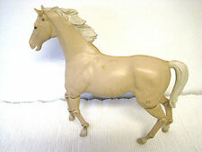 "Vintage 1966 Marx Johnny West 12"" Articulated Horse Moveable Head Legs"