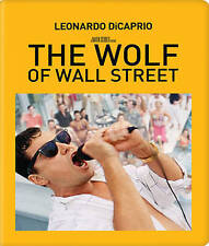 The Wolf of Wall Street (Blu-ray Disc, 2015, 2-Disc Set, SteelBook) NEW