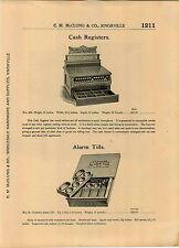 1904 AD Metal Cash Register The Victor Safe & Lock Company Cincinnati Ohio Safes