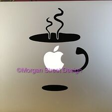 Coffee Mug Vinyl Decal Sticker Skin for Apple MacBook Pro Air Mac 11/13/15""
