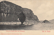 ECOSSE SCOTLAND ISLE OF STAFFA entrance fingals cave and causeway