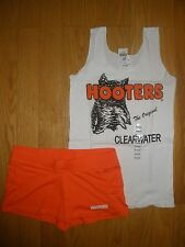 NEW HOOTERS SEXY UNIFORM HALLOWEEN COSTUME CLEARWATER FLORIDA SMALL W/EXTRAS