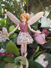 Cicely Mary Barker WILD THYME Flower Fairy Ornament Figurine RETIRED!  #87027