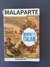 BENEDETTI ITALIANI - CURZIO MALAPARTE - 1961