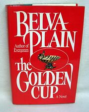 The Golden Cup By Belva Plain Used Book Hardback W/Dust Cover