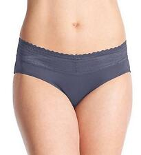 Warners No Pinching No Problem Lace Hipster 5609J Panty Blue Grey, 5 S, FREE S&H