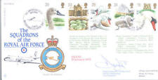 RAF FDC8 1993 Swans RAF FDC signed CO 115 Andover Sqn