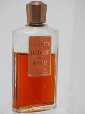 Vtg L'Origan De Coty Eau De Toilette Splah .65 New York Discontinued Mostly Full