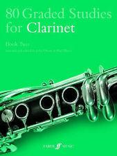 80 Graded Studies for Clarinet: Bk. 2, John Davies