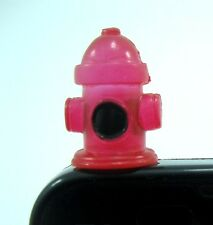 Red Fire hydrant Earphone Jack Plug Accessory Anti Dust cover