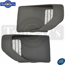 70-81 Trans Am Fender Air Extractor Side Louver Vent Scoop Set - NEW