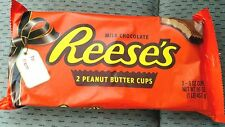 *HUGE* Reese's Peanut Butter Cups 2 8oz Cups Milk Chocolate 1 lb BB 8/2017 Candy