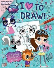 Love to Draw: Littlest Pet Shop I Love to Draw by Megan Bell (2015, Paperback)
