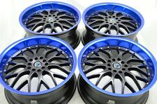 18 Drift rims wheels Accord TL Camry Fusion Mustang Avenger Legend 5x100 5x114.3