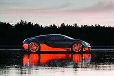 {24 inches X 36 inches} Bugatti Veyron Super Sport Poster #01 - Free Shipping!