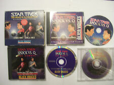STAR TREK: THE SPOCK Vs Q COLLECTION inc live performance – 2000 USA 3 x CD Box