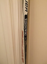 TANNER WISHNOWSKI KELOWNA ROCKETS AUTOGRAPHED BROKEN GAME USED STICK