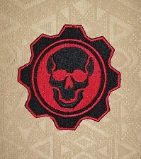 Gears of War Iron-on/ Da cucire Patch Ricamato / Distintivo/ Logo